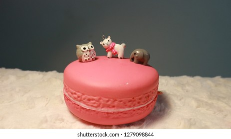 Pleasing Owls Birthday Cake Stock Photos Images Photography Shutterstock Funny Birthday Cards Online Alyptdamsfinfo
