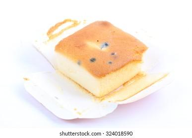 Cake isolate on white background