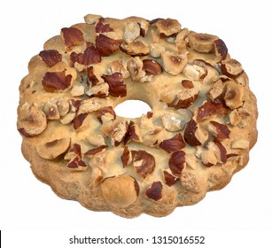 Cake sand ring with nuts