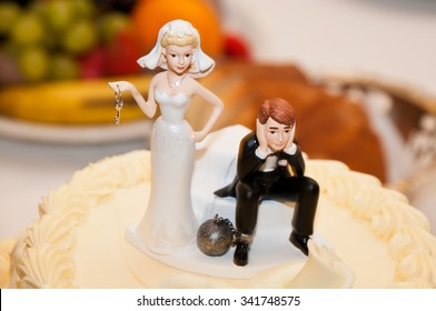 Funny Wedding Cake Toppers Stock Photos Images