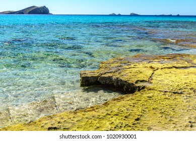 Cala Conta (Platges de Comte), Ibiza, Spain