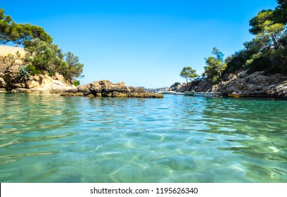 Cala Fornells View in Paguera, Majorca, Spain