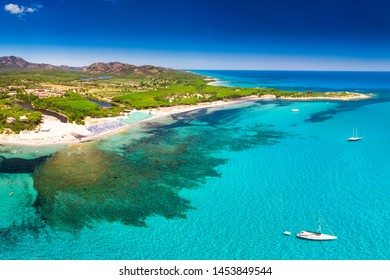 Cala Ginepro beach on Sardinia island, Sardinia, Italy, Europe.