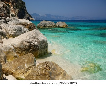 Cala Goloritze is one of the most famous beaches in Sardinia, It can be reached throug a trekking path in the mountains or by boat. It is famous among rock climbers for the scenic peak Aguglia