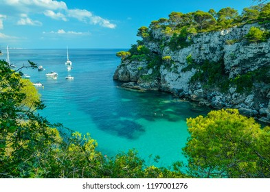 Cala Macarelleta, Menorca, Balearic Islands, Spain
