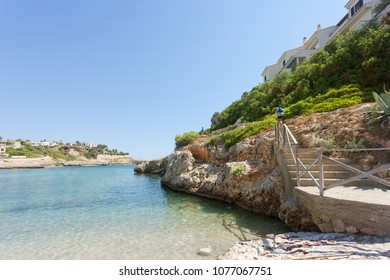 Cala Murada, Mallorca, Spain - A beautiful hiking trail at the coastline of Cala Murada