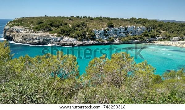 Cala Romantica Beach in Mallorca