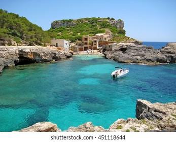 Cala s'Almonia / Calo d'Es Moro, Majorca Spain