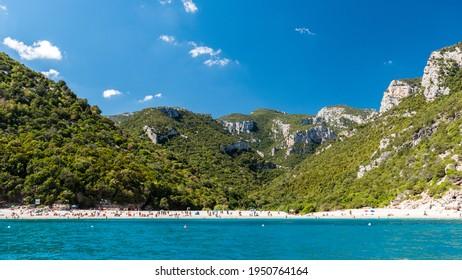 Cala Sisine, a bay along the Orosei gulf (Sardinia, Italy)