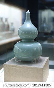 Calabash ceramic pot is a kind of porcelain in ancient China.
