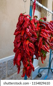 Calabrian red chillies
