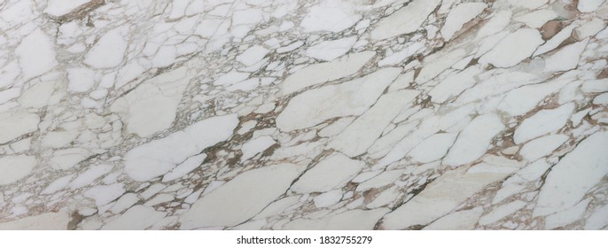 Calacatta Gold marble slab, polished. About 300x115 cm in high resolution.