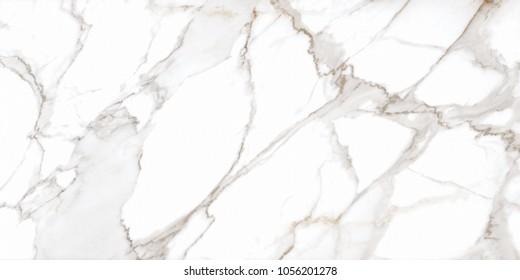 Calacatta White marble for Ceramic tile Inkjet (High resolution)