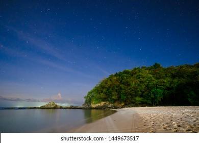 Calaguas Island Philippines at Night