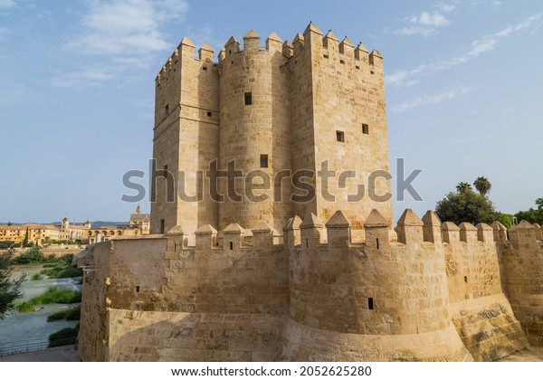 Calahorra Tower, (Torre de la Calahorra). A fortified gate built during the late 12th century by the Almohads to protect the nearby Roman Bridge in Cordoba, Spain