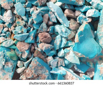 calaite turquoise raw mineral texture