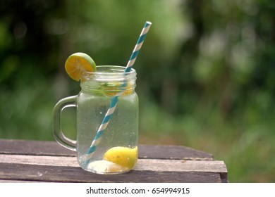Calamansi Juice has anti-bacterial property which is effective and natural mouthwash