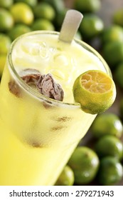 Calamansi Limes w Salted Sour Plums