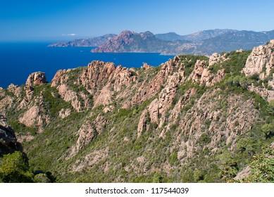 Calanche of Piana, Corsica, UNESCO World heritage site
