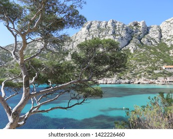 Calanque de Sormiou Calanques National Park Marseille Provence April France