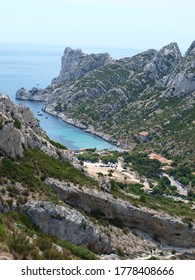 Calanque d'en Vau in Marseille, France