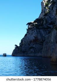 Calanque d'en-Vau near Marseille, France