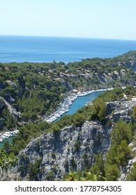 Calanque of port-Miou near Marseille France