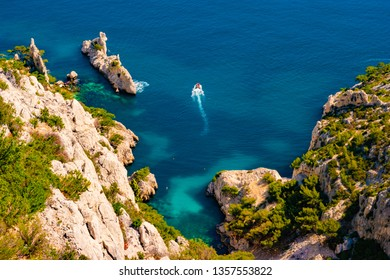 Calanque Sugiton at les Calanques national park in France