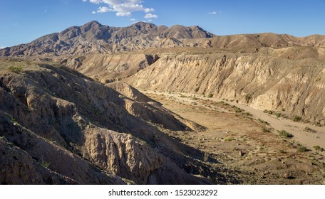 Calcite Mine Road Lookout at Anza-Borrego Desert State Park, CA, USA