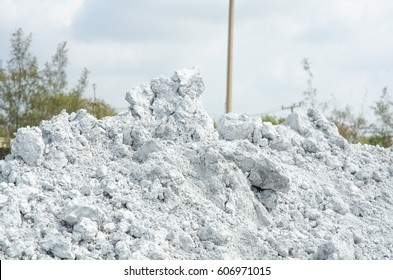 calcium carbide residue  are waste by-product from acetylene gas