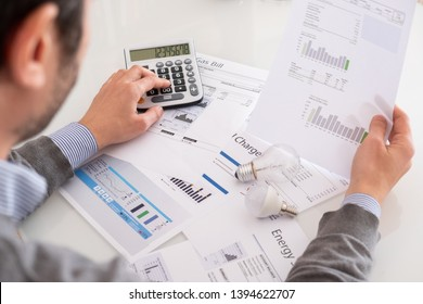 Calculating energy efficiency and energy bill papers