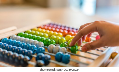Calculating On Abacus