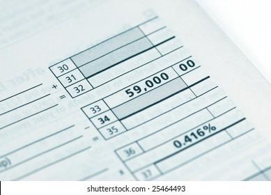 calculating tax
