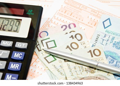Calculating taxes in Poland, PLN currency