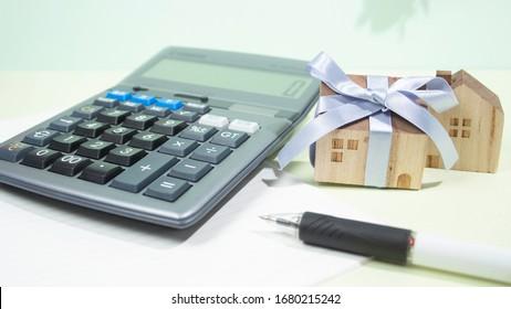 Calculation of inheritance tax when inheriting a house (real estate inheritance)