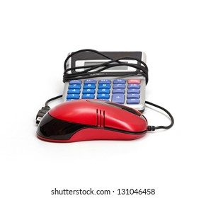 Calculator and computer mouse