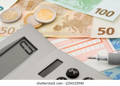 Calculator and Euro