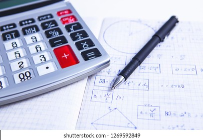 calculator formula pen