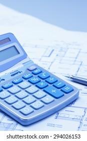 Calculator, house, loan