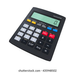 Calculator Isolated. 3D rendering