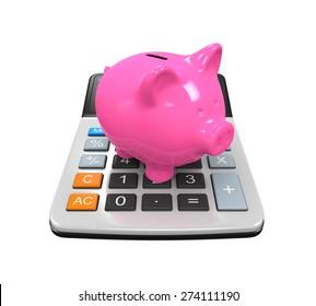 Calculator Piggy Bank