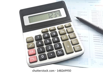 The calculator and the saving report./Calculator.