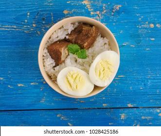 Calcutta Mutton Biryani - mixed rice dish