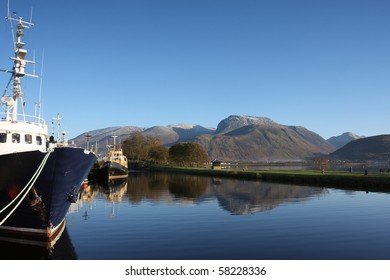 Caledonian Canal at Corpach.