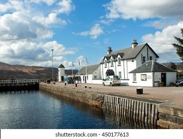 Caledonian canal fort william highlands, Scotland