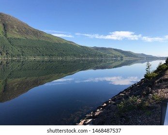 caledonian canal scotland landscapes with water canals