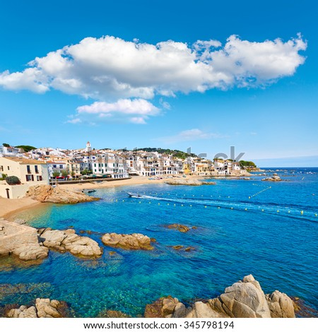 Calella De Parafrugell Costa Brava Girona Stock Photo Edit Now