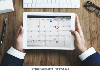 Calendar Appointment Schedule Memo Management Organizer Urgency Concept