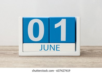 calendar date June 1. Hello june - Happy Childrens Day