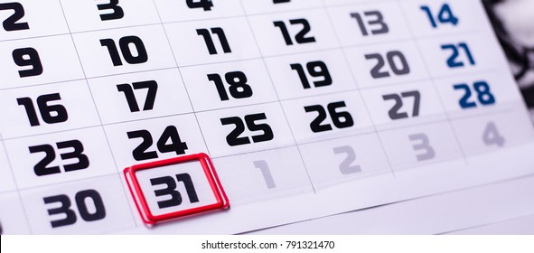 calendar days, background